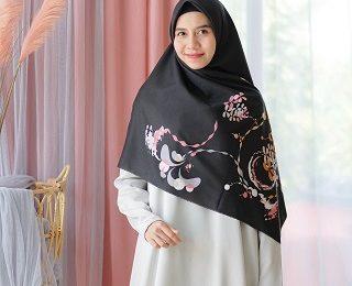 jilbab syar'i motif