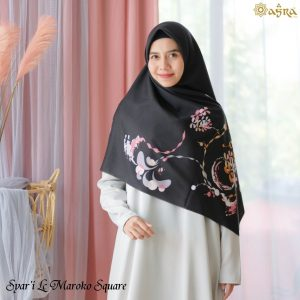 Jilbab syar'i motif terbaru