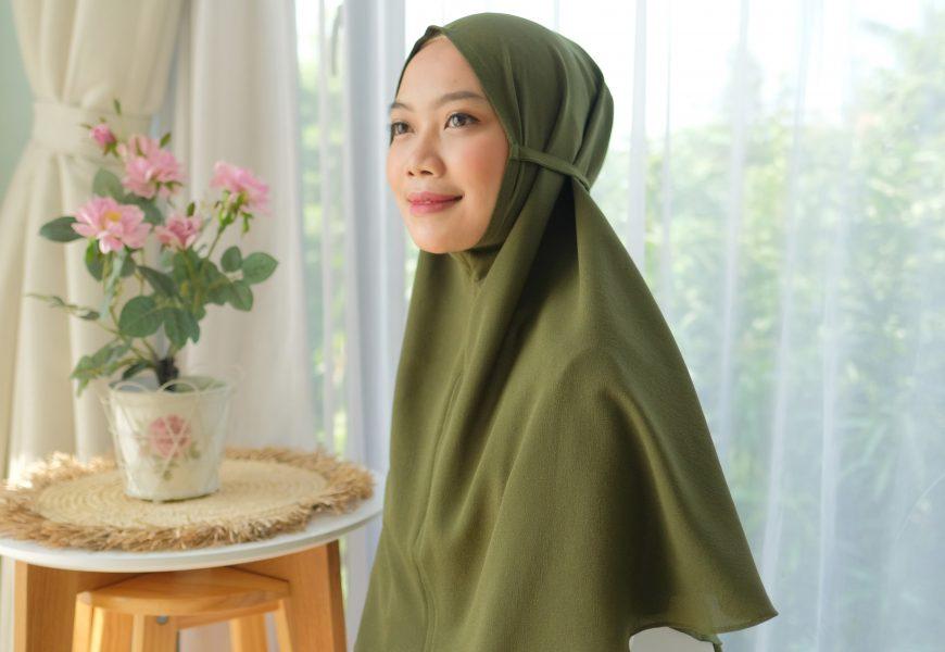 Bergo Instan Maryam Model Trending Kekinian